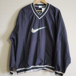Vintage Nike Air swoosh Pullover Jacket Size XL